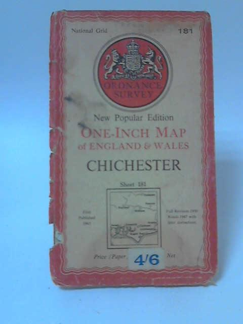 One-Inch Map of England & Wales Sheet 181: Chichester by Anon