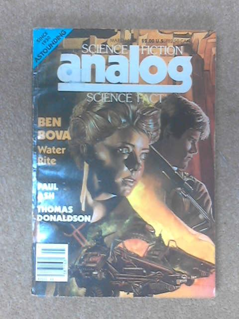 Science fiction analog scienec fact March 1988 by Anon
