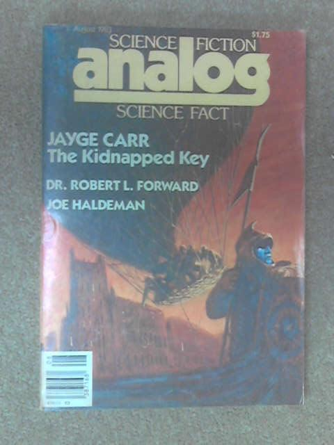 Analog Science Fiction and Fact Jayge Carr by Robert L. Forward