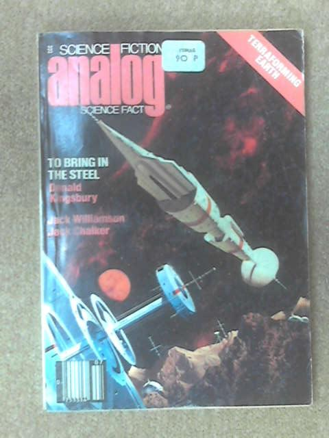 Science Fiction  Science fact Analog: July 1978 by Anon