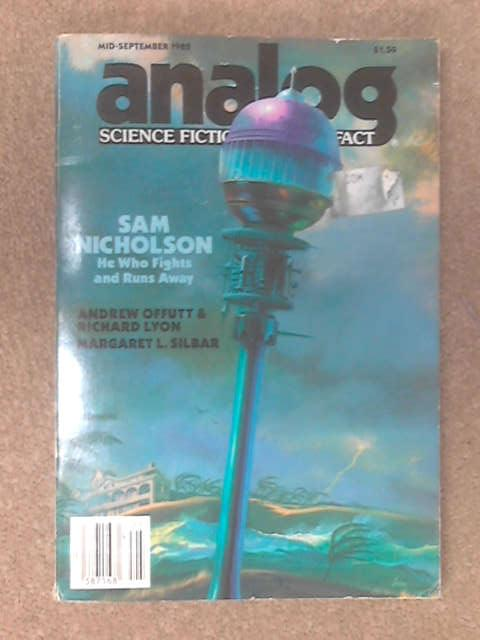 Mid-September Analog Science Fiction, Science Fact by Sam Nicholson
