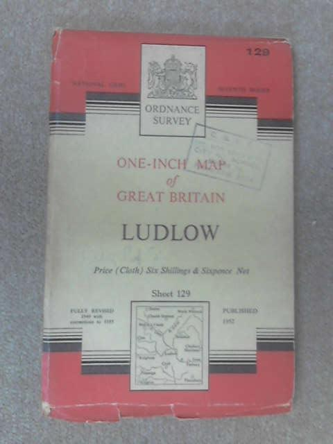 One inch map of great britain ludlow by Anon