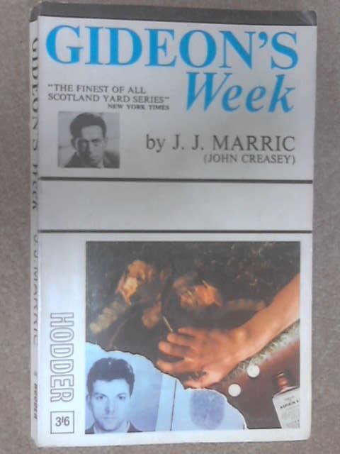 GideonsS Week by J. J. Marric (John Creasey)