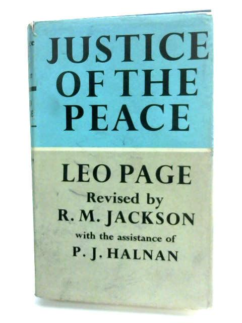 Justice of the Peace by Page, Sir Leo