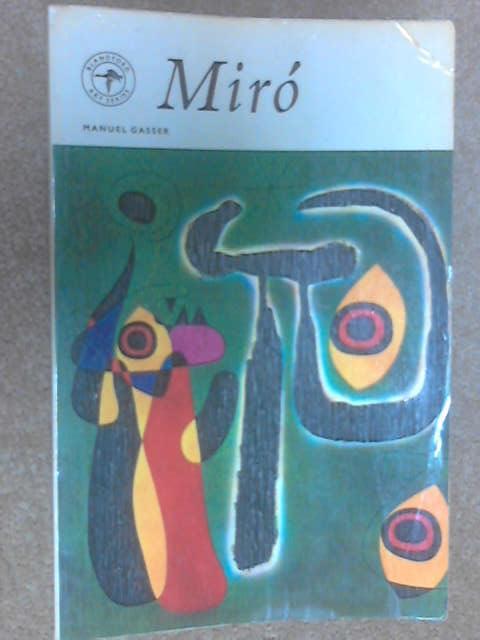 Joan Miro by Gasser, Manuel