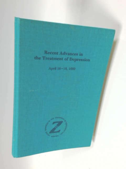 Recent advances in the treatment of depression by Various