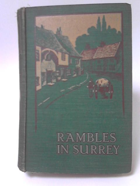 Rambles in Surrey by J. Charles Cox
