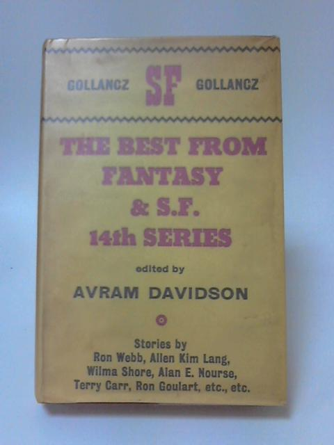 The Best from Fantasy and Science Fiction by Avram Davidson