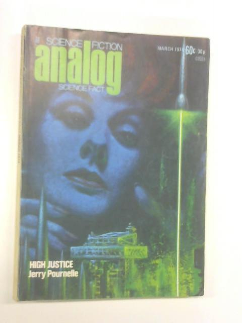 Analog Science Fact Fiction Volume XCIII No 1 March 1974 by Various
