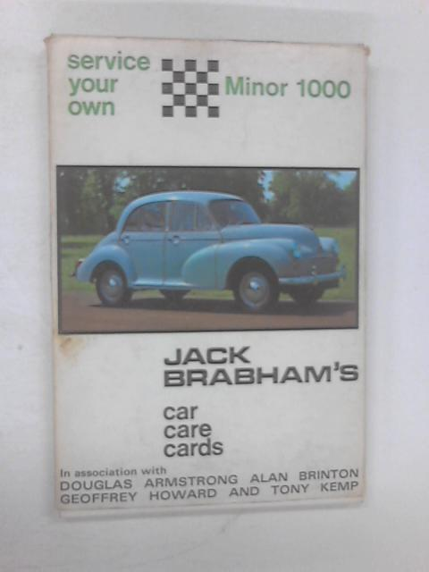 Service Your Own Car Care Cards by Jack Brabham
