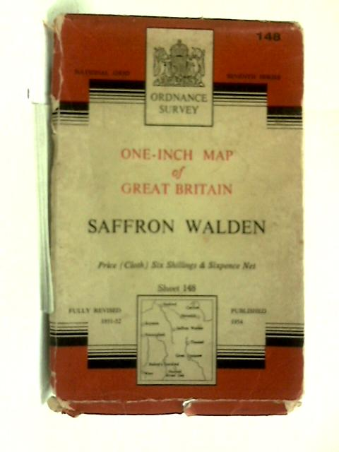 One-Inch Map of England & Wales Sheet 148 Saffron Walden by Anon