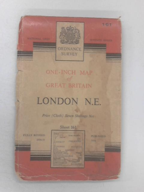 One-Inch Map Of London N.E. by Ordnance Survey