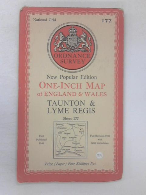 One-Inch Map of Taunton & Lyme Regis Sheet 177 by Various