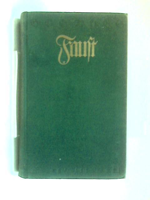 Goethes Faust. Neunte Auflage. Erster Band, Zweiter Band. by Georg Witkowski