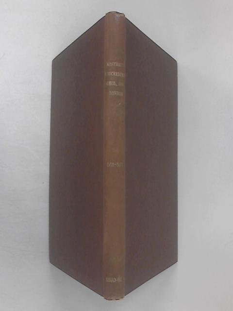 Abstracts of the Proceedings of the Geological Society of London - Session 1890-91, Nos. 561-577 By Various