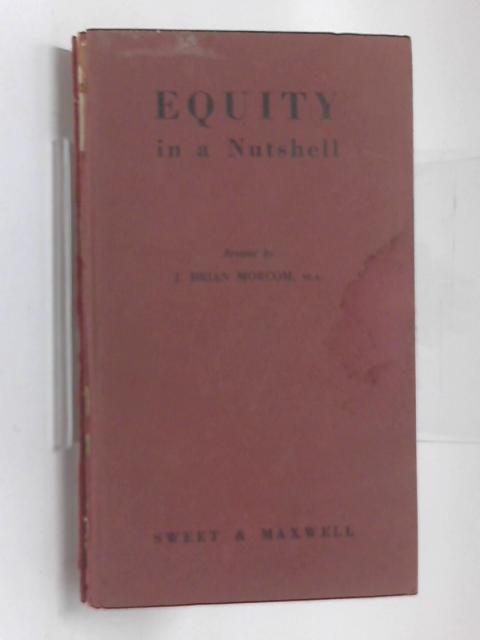 Equity in a nutshell by J. Brian Morcom