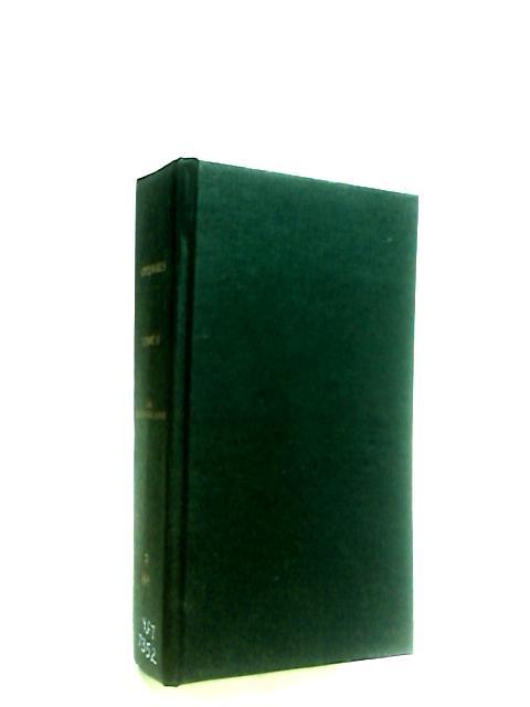 Oevres de la Rochefoucauld tome second by Gourdault