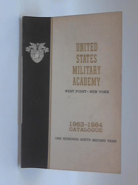 United States Military Acadmey Catalogue 1963  1964 by Anon