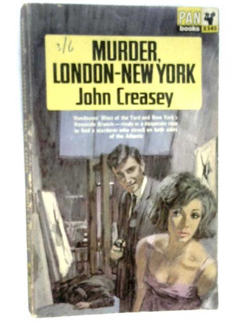 Murder London-New York by Creasey, John