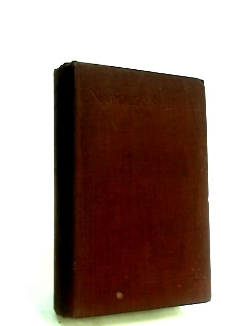 Napoleon I. volume II by Fournier, August.