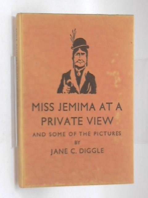 Miss Jemima At a Private View by Jane C Diggle