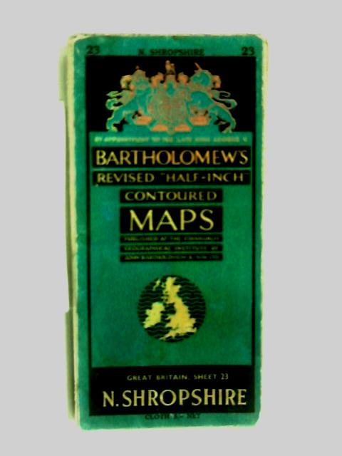 revised half-inch contoured maps N.Shropshire by Anon
