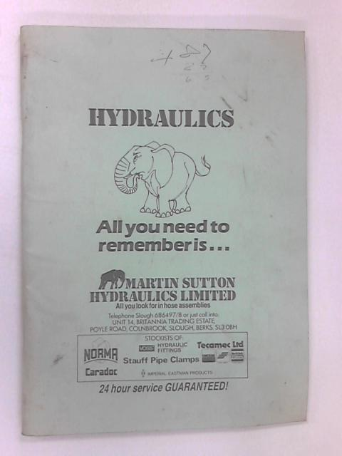 Hydraulics by Various