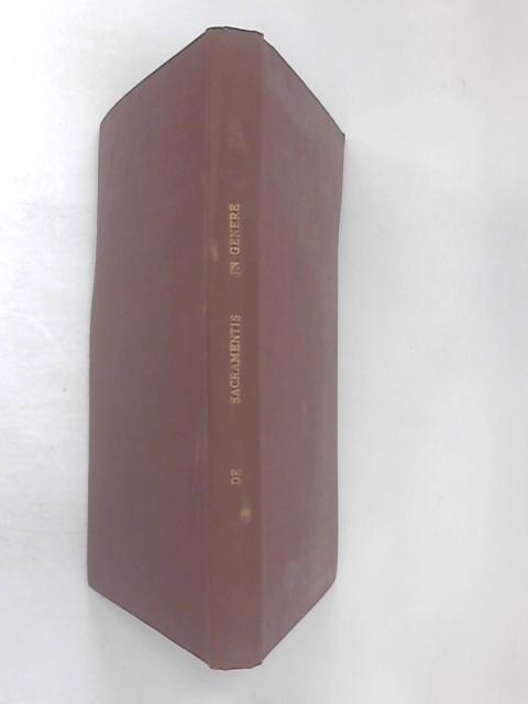 Commentarii de Sacramentis in Genere by Concinnati