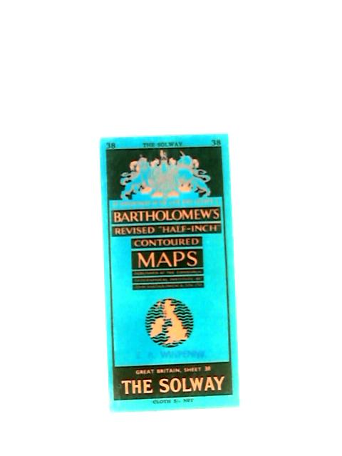 Bartholomews map of The Solway, sheet 38 by Anon