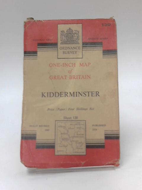 One-Inch Map Of Great Britain Sheet 130 Kidderminster by Anon
