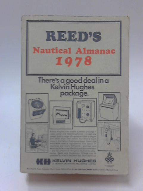 Reed'S Nautical Almanac 1978 by Reed's