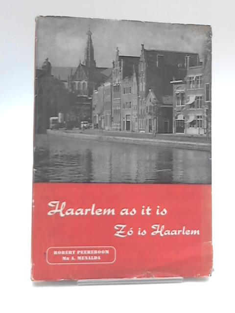 Haarlem As It Is - Zo is Haarlem by Robert Peereboom