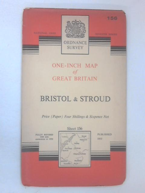 Ordnance Survey One-Inch Map of Bristol & Stroud by Various