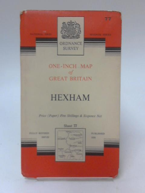 One-Inch Map of Great Britain Sheet 77 Hexham by Anon