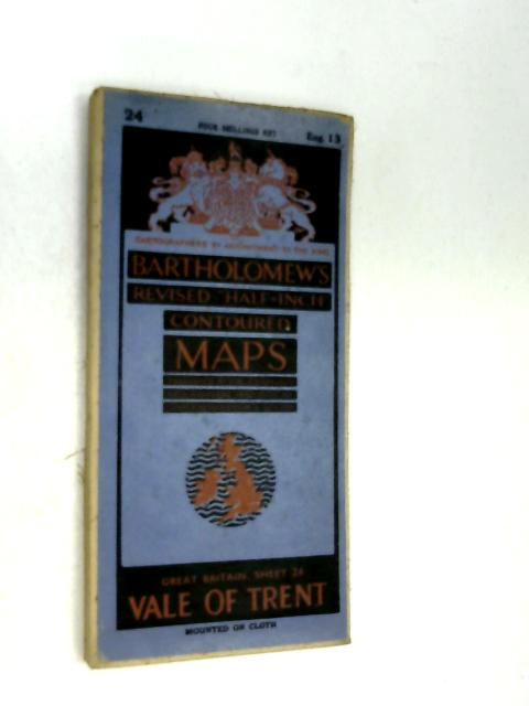 Bartholomew's Contoured Maps, Vale of Trent by Anon