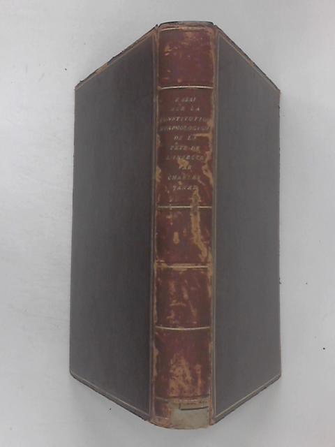Essai Sur La Constitution Morphologique De La Tete De L'Insecte by Charles Janet