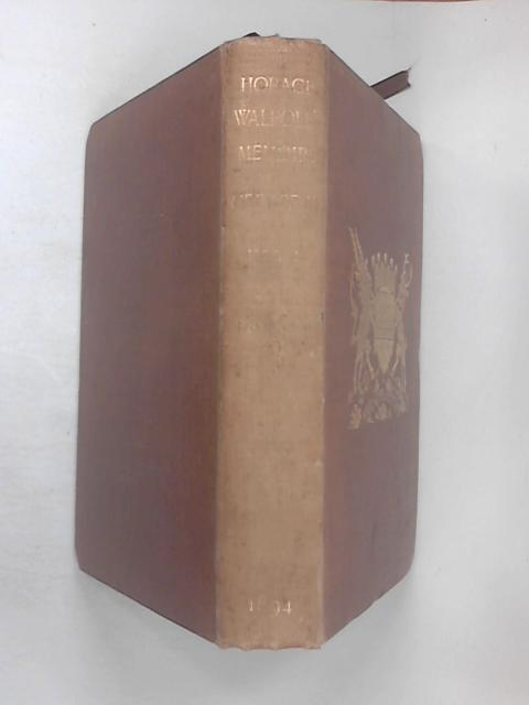 Memoirs of the Reign of King George the Third, Vol 1 by Horace Walpole