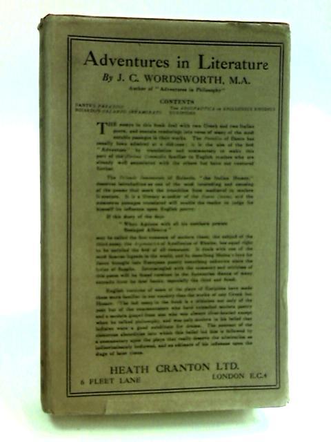 Adventures in Literature by Wordsworth, J.