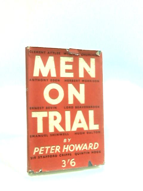 Men on Trail By Howard, P.