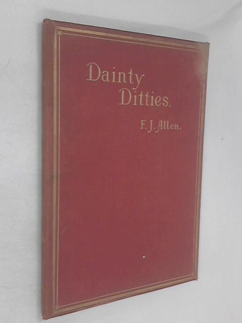 Dainty Ditties, or old Nursery Rhymes with New Tunes by Allen, Frank James