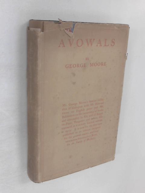 Avowals By George Moore