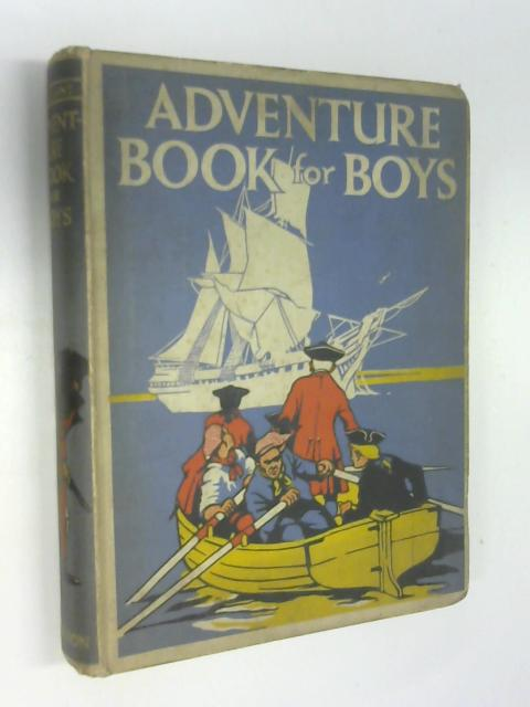 The blue line adventure book for boys by Anon
