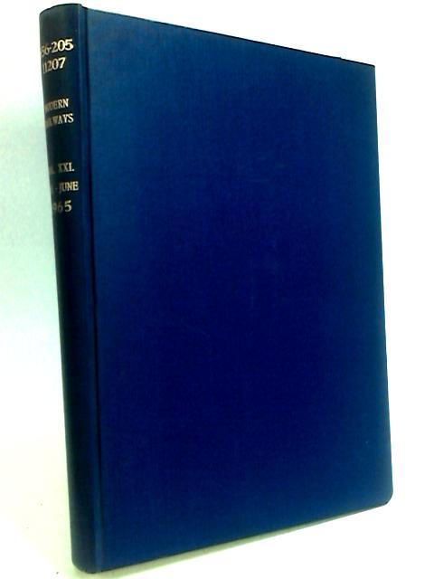 Modern Railways Volume XXI By Allen, G. Freeman.