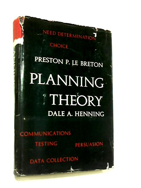 Planning Theory by Dale A. Henning
