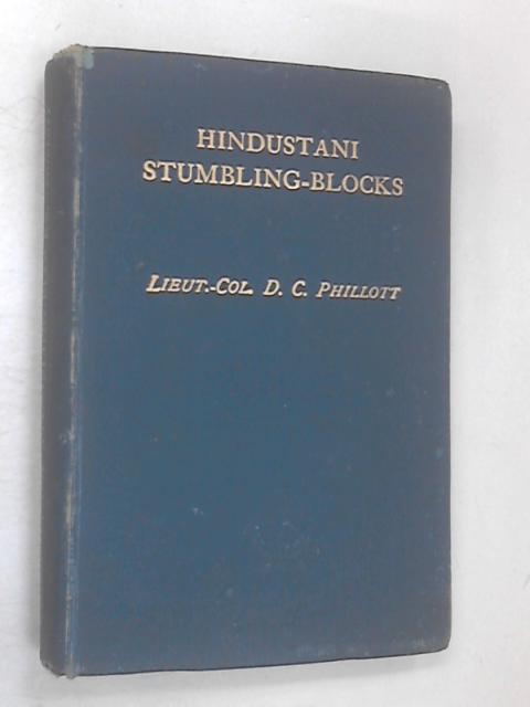 Hindustani Stumbling-Blocks by Douglas Craven Phillott