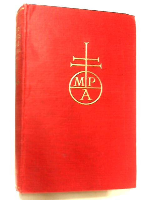 The Master Printers Annual & Typographical Year Book 1954 by A. Austen-Leigh