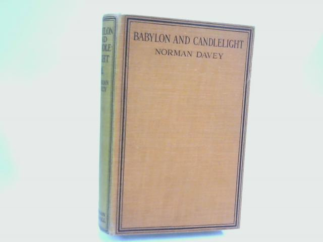 Babylon and Candlelight by Norman Davey