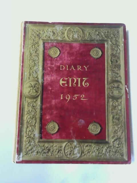 Diary Enit 1952 by Anon
