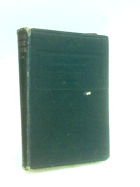 The Inspection Of Fish, Poultry, Game, Fruit, Nuts & Vegetables By Walker, Horace A.