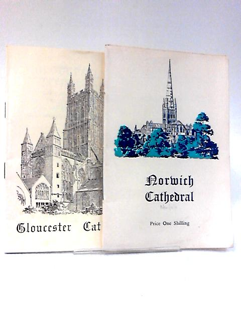 2 Guidebooks - Gloucester, and Norwich by Various